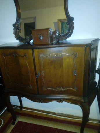 Comoda Chippendalle cu oglinda antica / retro/ vintage