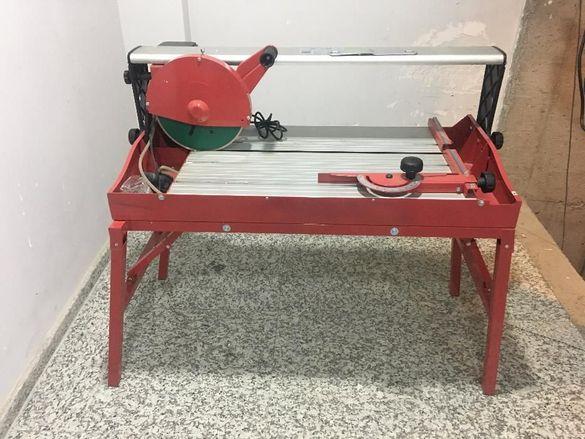 Машина за плочки и камъни 1800W ø300mm 72cm RDP-ETC26