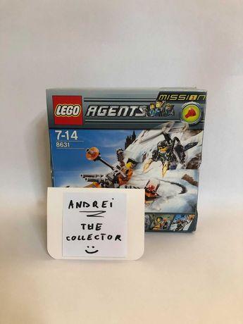 Lego Set Agents 2008 Mission 1: Jetpack Pursuit 8631-1 EXPUS / NOU