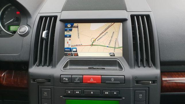 DVD harti navigatie Landrover Freelander 2 Europa Romania 2021