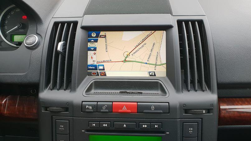 DVD navigatie Landrover Freelander 2 harti Europa Romania 2021