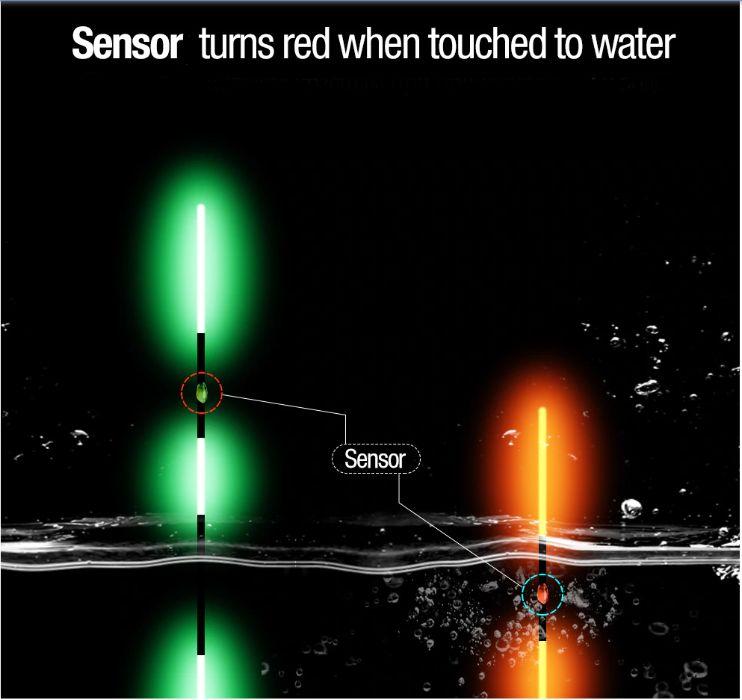 Pluta inteligenta LED, pescuit de noapte cu schimbare de culoare Bucuresti - imagine 1