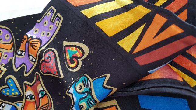 Продам шикарный шёлковый платок