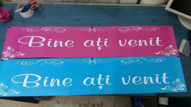 """Banner """"Bine Ati Venit"""""""