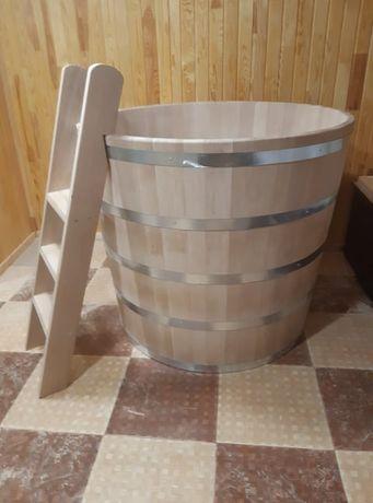 Дървени вани-джакузи,руска баня.