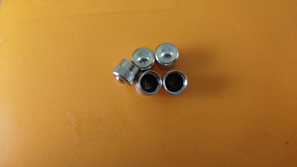 Алуминиеви метални капачки за вентили джанти