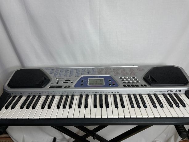 Orga electronica Casio CTK-481 Keyboard, in stare forte buna