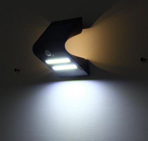 Lampa solara led cu lumina ambientala si senzor de miscare.
