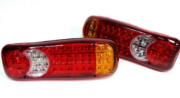 Комплект Диодни LED Стопове Задни Светлини Камион Каравана Бус Ремарке