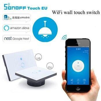 Intrerupator perete wifi