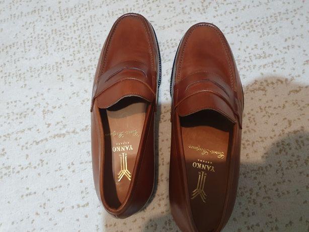 Pantofi Yanko din piele