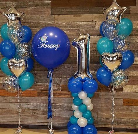 Доставка гелиевых шаров! Шары на выписку, на день рождения, hen party!