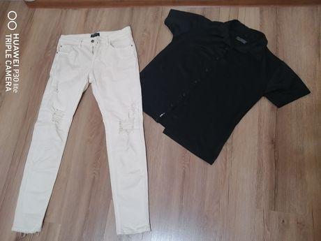 Мужские стильные джинсы Bershka