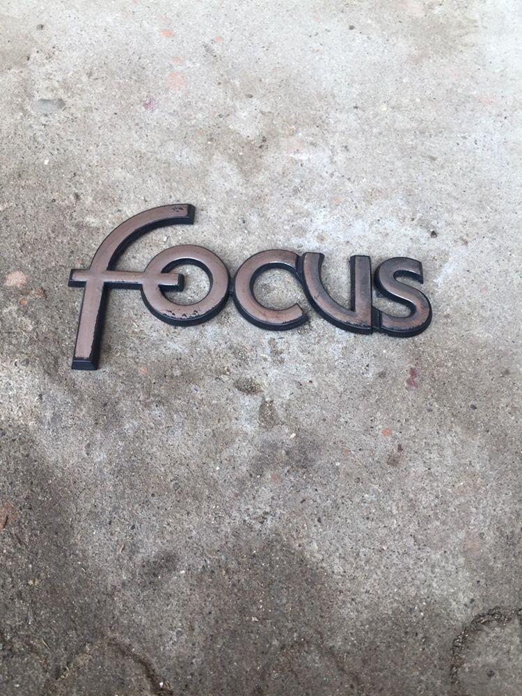 Emblema sigla Focus