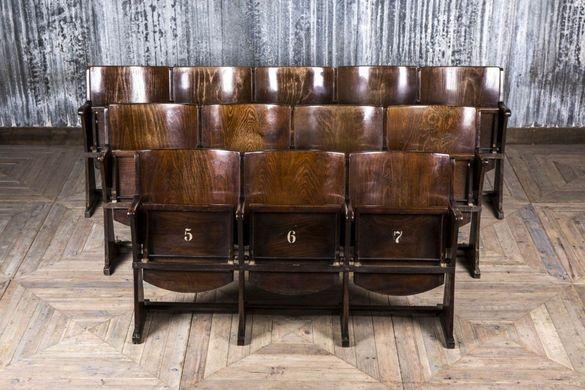 Дървени кино столове