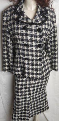 Дамски костюм, 40-42 размер, 2-3 пъти облечен