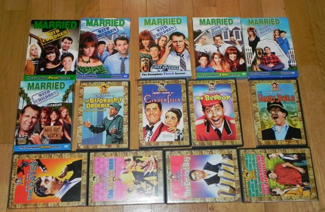 lot DVD filme actiune, Familia Bundy Terminator Harry Potter Dallas