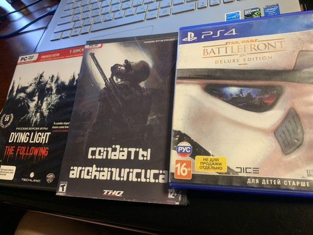 Игры на PC и PS