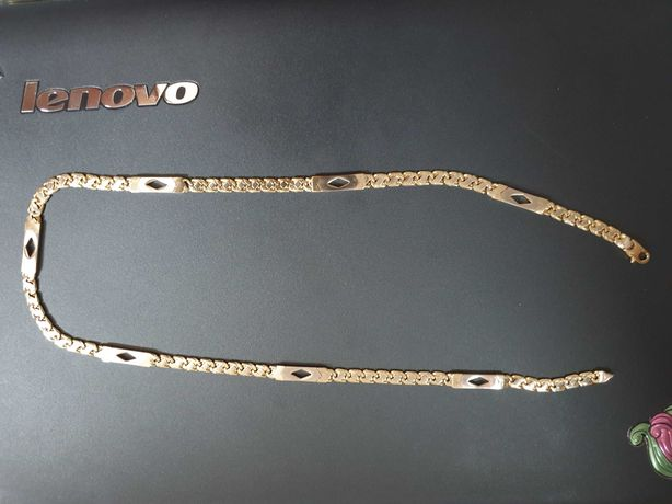 Lanț de aur masiv , PLIN  , 63.9 grame, 14 k , 60 cm , superb