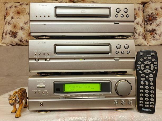 Frumusețe Hi-Fi. Denon UDRA-77. Sistem audio de vis. Ca scos din cutie