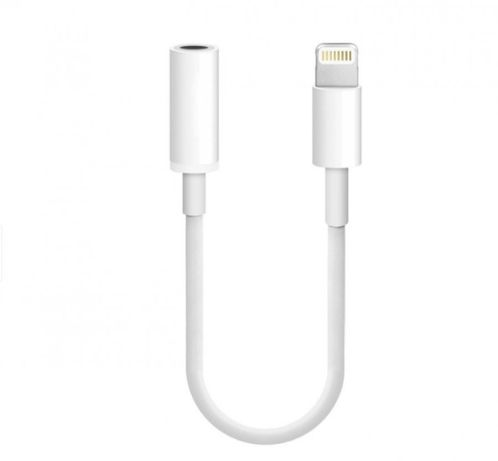 Adaptor Audio Casti Iphone Jack 3.5mm Cablu Apple Lightning la Jack