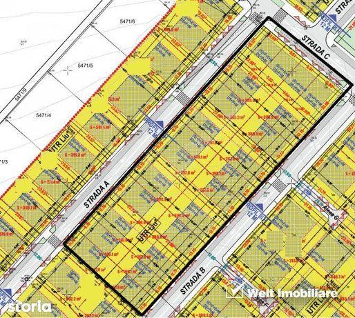 Vanzare teren Borhanci, 24 de parcele, PUZ apropat, ideal dezvoltare i