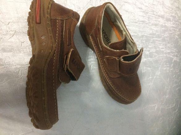Продавам детски пролетно-есенни обувки от естествена кожа