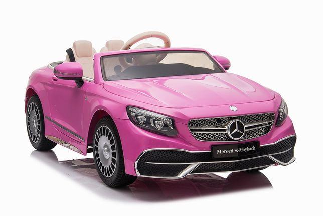 Masinuta electrica Mercedes S650 MAYBACH PREMIUM #Roz
