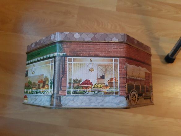 Стара английска кутия винтидж