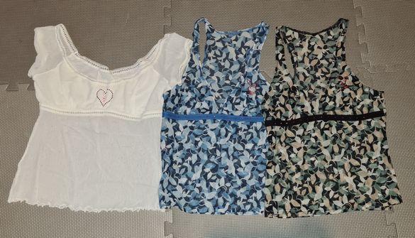 Playboy потници и блузка с къс ръкав