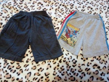 шорты 3 штуки трикотажные на мальчика 5-6 лет
