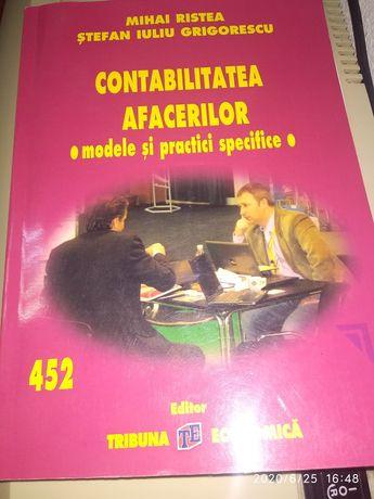 Cartea Contabilitatea afacerilor-modele si practici specifice-