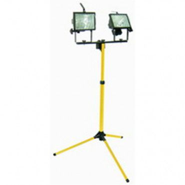 Lampa Halogen Portabila cu Stativ 2X500W / 220V