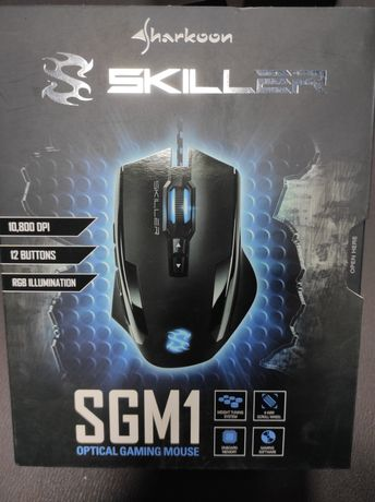 Mouse Gaming Sharkoon Skiller SGM1 - RGB , 10.800 DPI , Nou Sigilat