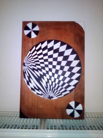 Tablou pe suport lemn
