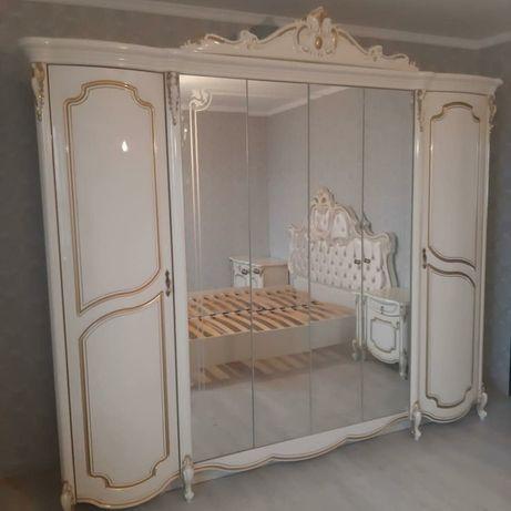 Спальный гарнитур Лорена 540000 тг. Алматы достака и сборка. Мебель со
