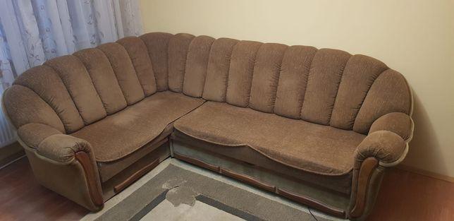 Canapea extensibila pe cadru metalic