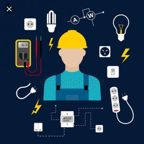 Электрик качественно и недорого! Стаж 15 лет