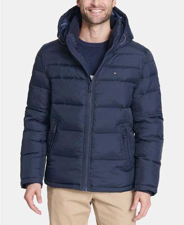 Geaca iarna Tommy Hilfiger Hooded Puffer Jacket masura M L