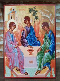 Икона на Светата Троица icona Svetata Troica
