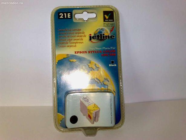 Cartus Epson Stylus Color 480/580/C20/C40 BK E21 JETLINE