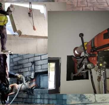 Carotare beton, gaura beton, hota, centrale si taiere beton (decupare)