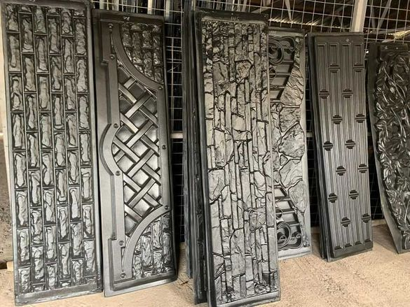 Форми за бетонни огради и стълбове от ABS