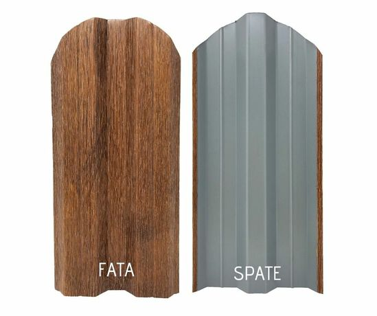 Sipca metalica / Panouri / Gard-structura / Fier fasonat / Carcase
