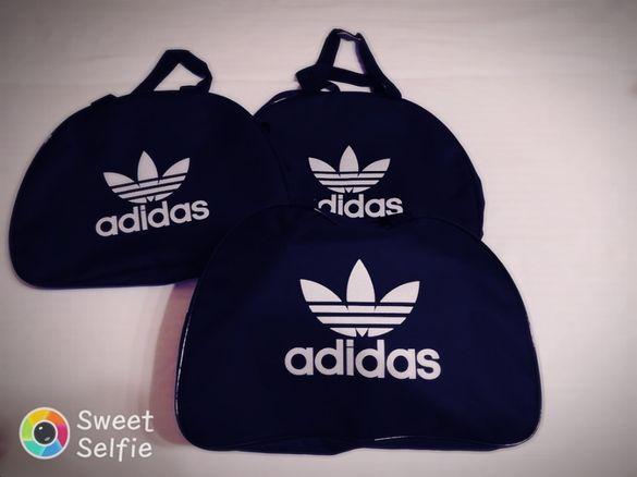 Спортна чанта сак торбичка с лого Adidas Nike Адидас Найк нова за спор