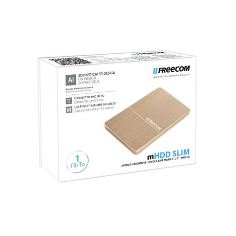 Hard Disk extern Memorie HDD Freecom mHDD Slim 1TB Nou Sigilat