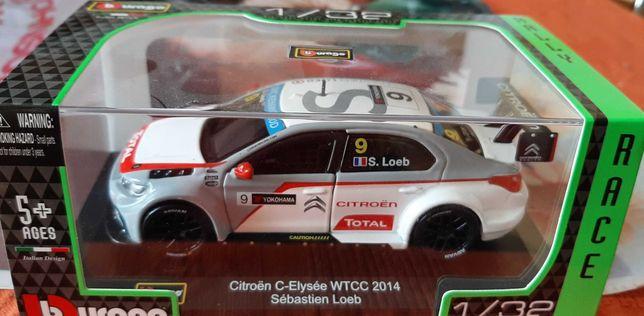 Vand macheta masinuta de colectie Citroen C-Elysee WTCC 2014