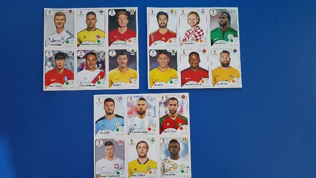 Panini World Cup 2018 Russia Sticker Sheets din Austria