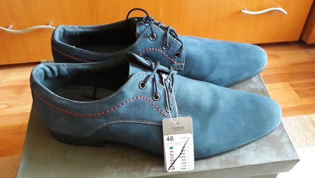 Pantofi barbati piele naturala marimea 46 Lasocki noi