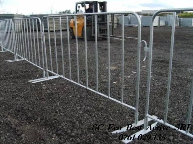 Inchirieri Garduri Mobile - Panou Mic (2.5x1.2 metrii sau 2x1 metrii)